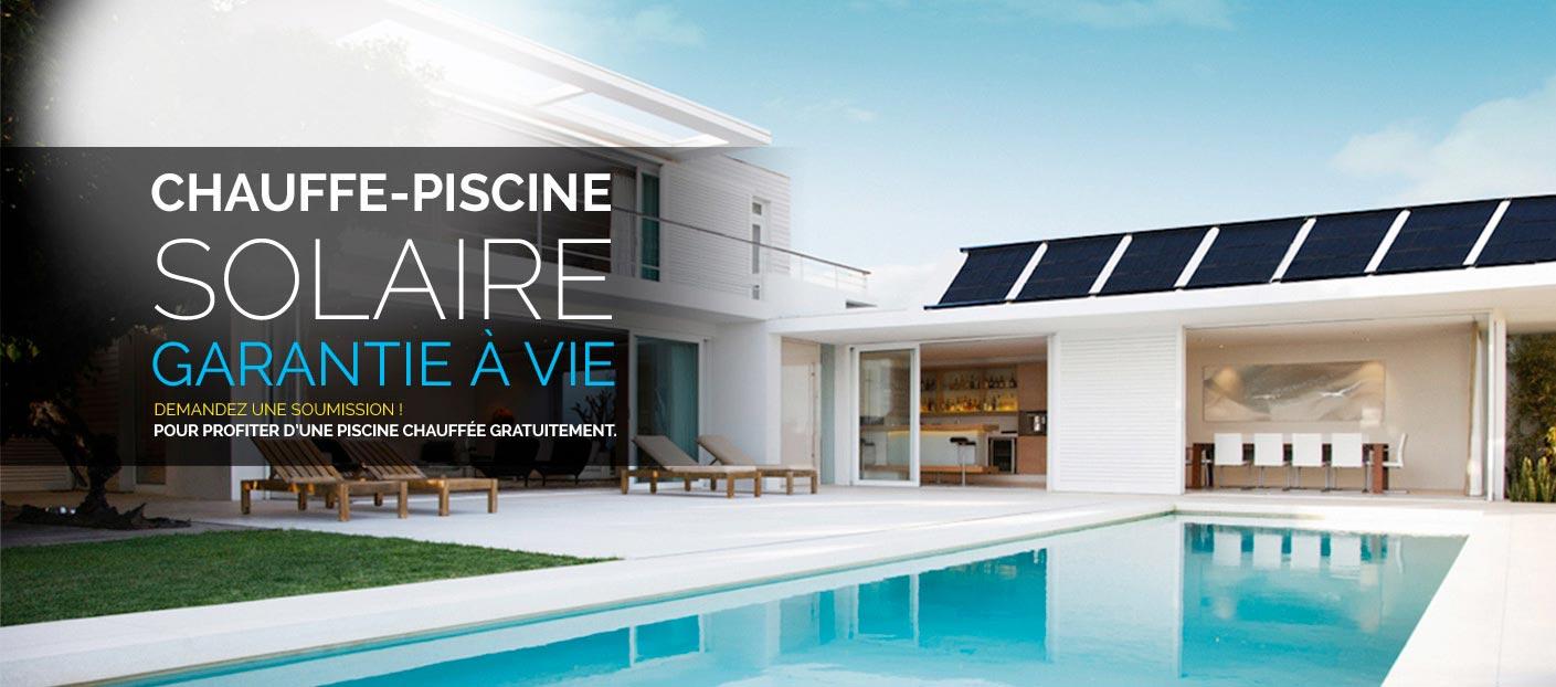 Chauffe piscine capteur solaire technosolis for Chauffe piscine express