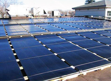 commercial or municipal solar panel installation 3